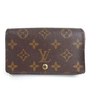 Auth Louis Vuitton Portimone Small Wallet